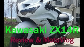 4. Kawasaki Ninja ZX14R: Review, BMW HP4 Racing & Motovlog
