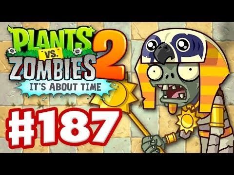 Plants vs. Zombies 2: It's About Time – Gameplay Walkthrough Part 187 – Pyramid of Doom (iOS)