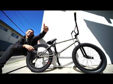 GIVING AWAY MY BMX BIKE! (видео)
