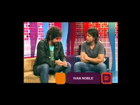 Iván Noble video Entrevista 2011 - Estudio CM