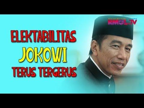 Elektabilitas Jokowi Terus Tergerus