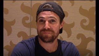 Arrow - Stephen Amell Interview on Season 8