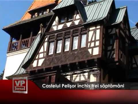 Castelul Pelişor închis trei săptămâni
