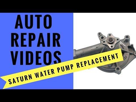 Saturn S-Series Waterpump Replacement