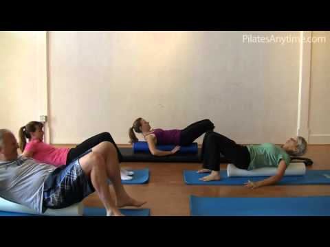 Class 224 - http://www.pilatesanytime.com In today's class, Amy uses the foam roller to stimulate deeper connection to the abdominals, back extensors and hip rotation. T...