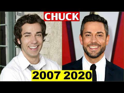 Chuck Cast Then and Now 2020