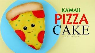 How to Make a Kawaii Pizza Cake - Laura Loukaides