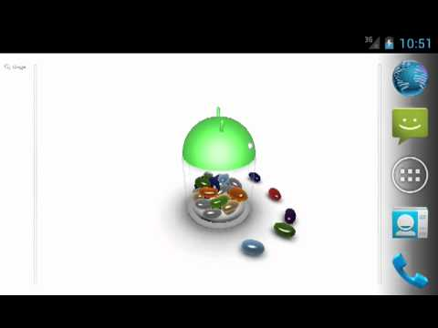 Video of 3D Jelly Bean Live Wallpaper