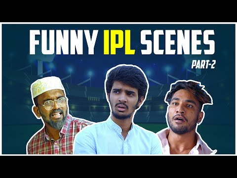 Funny IPL Scenes Part - 2 | Warangal Diaries Comedy