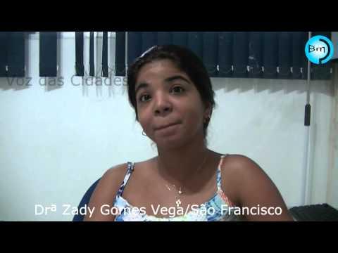 São Francisco - Conheça a Drª Zady Gomes Vega. Que está saindo de ferias, e talvez não volte a consultar na cidade.