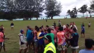 Ngatangiia Cook Islands  city images : 7s fight Muri, Rarotonga