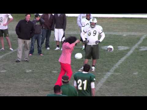 Rocky Mountain College Football 2012 - Coach Dancing Gangnam Style