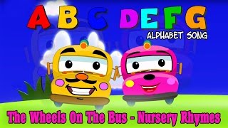 The wheels on the bus are ready to give all the kids a ride and teach ABCD Nursery Song.►ABCD song Lyrics:A B C D E F G H I J K L M N O P Q R S T U V W X Y and ZNow I know my ABCNext time won't you sing with meChildren Rhymes is an online portal which has the collection of the traditional rhymes in beautiful 3D animations and colorful clips.A one stop destination for your toddlers where they can read, learn and sing along!  For More Updates:►Subscribe to https://www.youtube.com/kidse3►Like us on  https://www.facebook.com/kidse3►Circle us @ https://plus.google.com/+kidse3/posts