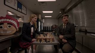 Sean Astin and Ali Astin deleted chess scene from Bad Kids of Crestview Academy