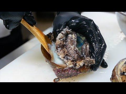 Japanese Food - GIANT ABALONE Liver Rice Sushi Teruzushi Japan - Thời lượng: 16 phút.