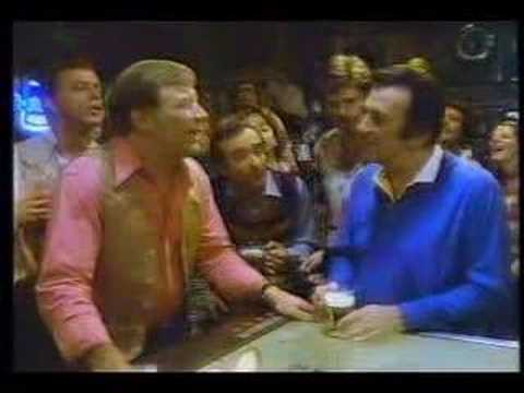 Natural Light Beer Commercial with Mickey Mantle