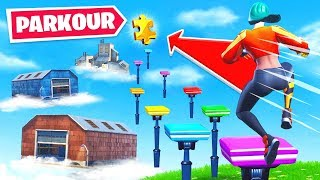 SEASON 1 POI's Parkour COURSE in Fortnite!