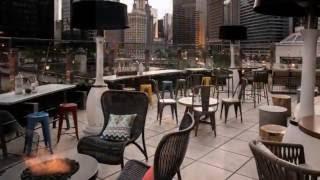 RENAISSANCE CHICAGO HOTEL ROOFTOP CONSTRUCTION VIDEO