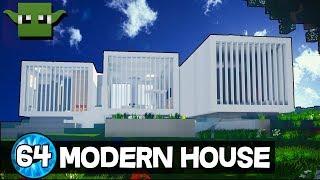 Minecraft 10 Minute Tour - Modern House 64