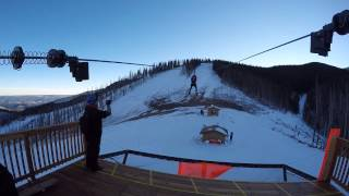 Ruidoso (NM) United States  City pictures : Zip-lining in Ruidoso New Mexico 2014