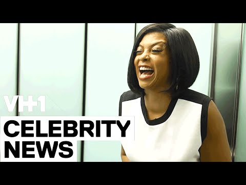 Taraji P. Henson with Jarvis In The Elevator | VH1
