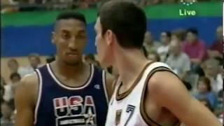 Video 1992 Dream Team vs Germany - Barcelona Olympics Game 3 MP3, 3GP, MP4, WEBM, AVI, FLV September 2019