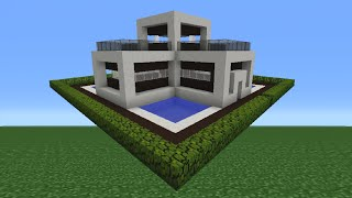 Minecraft Tutorial: How To Make A Miniature House - 7