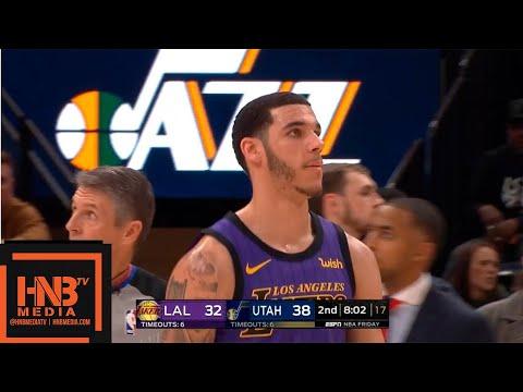 Los Angeles Lakers vs Utah Jazz 1st Half Highlights   01/11/2019 NBA Season