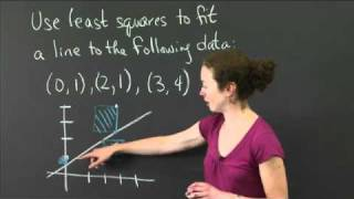 Least Squares | MIT 18.02SC Multivariable Calculus, Fall 2010