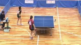 世界卓球2015蘇州 女子日本代表選手選考会 1日目