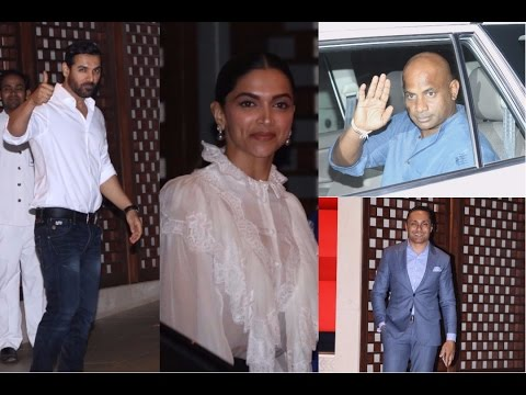 Sachin Tendulkar , John Abraham , Deepika At Nita & Mukesh Ambani Host Dinner To Celebrate 10 Years Of Mumbai Indians
