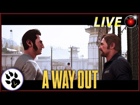 LIVE 😈 A WAY OUT : Fuga dal carcere!! - ITA - Finiamo il gioco? w/ Belhtasor