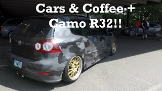 DITL #7: Cars & Coffee + Car Hangs + Camo R32! by Ignition Tube