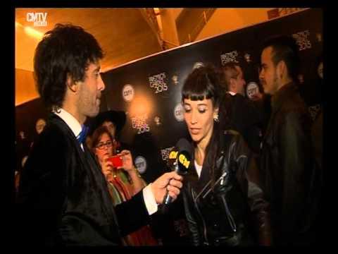 Sol Pereyra video Entrevista CM - Premios Gardel 2015
