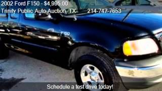 2002 Ford F150  for sale in Dallas, TX 75208 at Trinity Publ