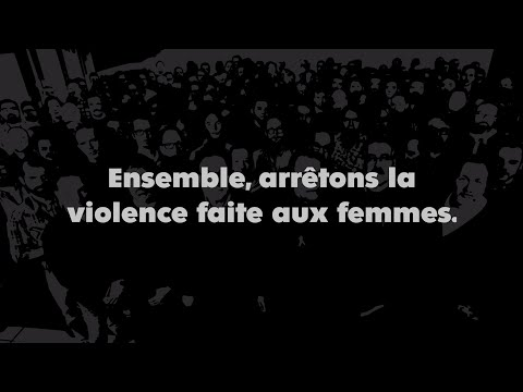 150 hommes unis contre la violence envers les femmes