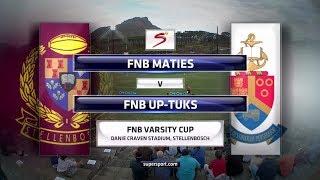 Varsity Cup Rugby 2018 - Maties vs UP-Tuks