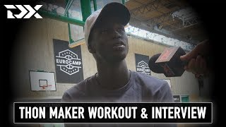 Thon Maker Workout and Interview at the Adidas EuroCamp in Treviso