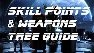 """What's up everyone, in this video we go over how the new """"stat points"""" system works along with the bonus of specing into weapon..."""