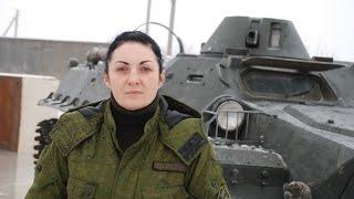 """Маша из батальона Мачете: """"Должна быть Большая Новороссия"""""""