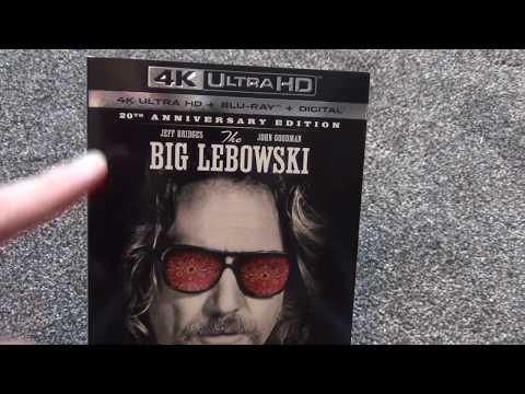 The Big Lebowski 4K Ultra HD 20th Anniversary Edition Unboxing