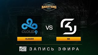 Cloud9 vs SK - Dreamhack Malmo 2017 - map1 - de_train [ceh9, Enkanis]