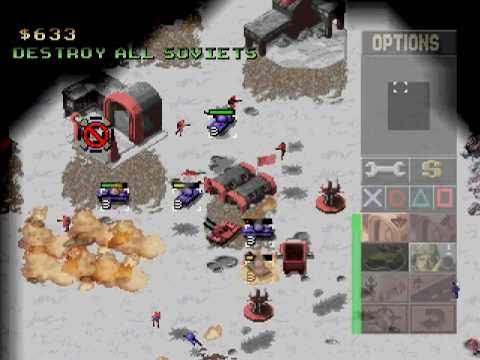 command & conquer alerte rouge ps3