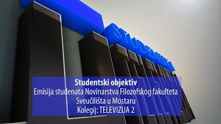 Studentski objektiv: emisija studenata Novinarstva Filozofskog fakulteta