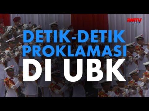 Detik-Detik Proklamasi Di UBK