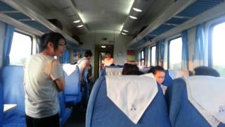 Jiaxing China  City pictures : China: JiaXing / Shanghai Slow Train VS High Speed Train