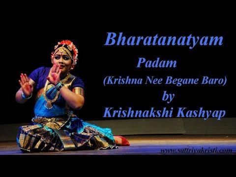 Bharatnatyam Padam (Krishna Nee Begane Baro) by Krishnakshi Kashyap of Guwahati.vob