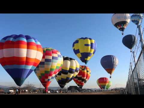 加西の空ふわり 熱気球全日本学生選手権第2、3日
