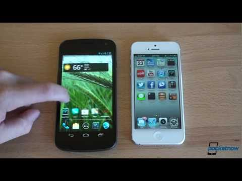 ios 6 - In this video we compare Android 4.1 Jelly Bean on the Galaxy Nexus with iOS 6 running on the iPhone 5. These operating systems are very different. Android h...
