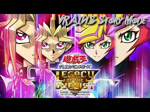 Yu-Gi-Oh: Legacy Of The Duelist Link Evolution(Switch) - Full VRAINS Story(Plus Pack Opening)